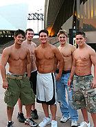 Hot jocks posing