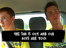 Kyle & AJ pickup Lex from the station and offered him money to come back with them. They take him to the dungeon where they then reveal he wont get paid and the...